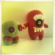 amigurumi monsters Joy's Toys