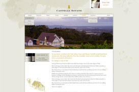 Castelli Estate Wines website