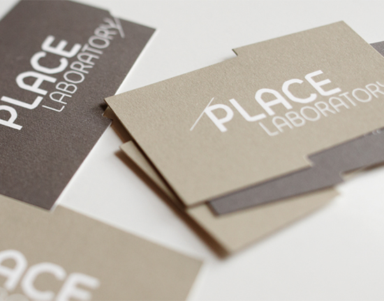 Place Laboratory Corporate Identity & Business Cards